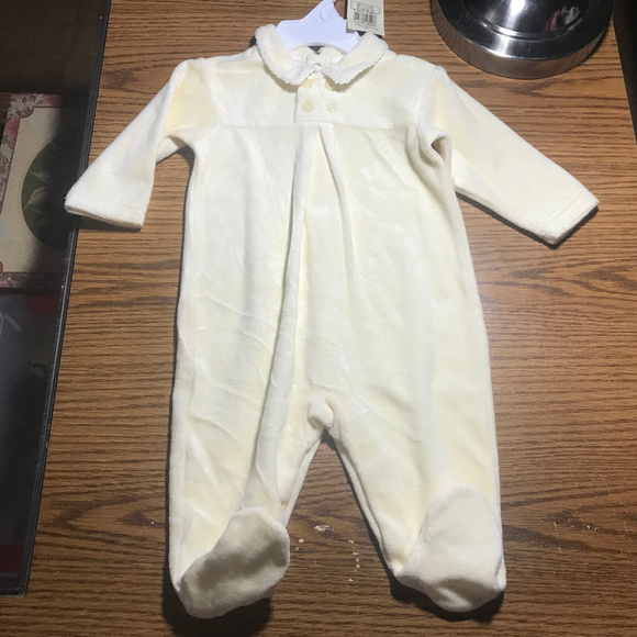 Ralph Lauren Other - Ralph Lauren yellow footed sleeper 3-6 months NWT